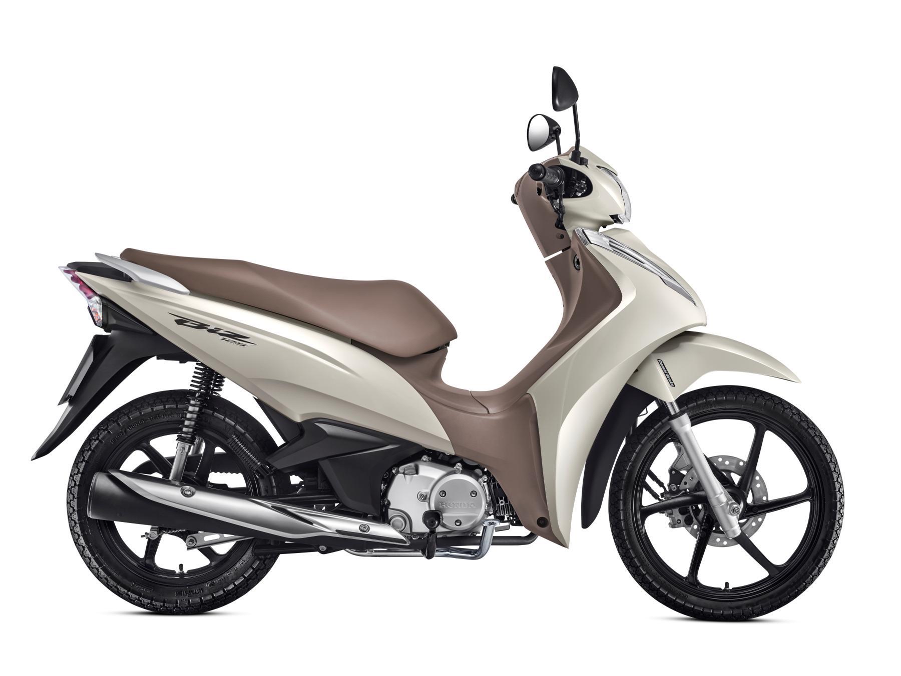 Ficha técnica da Honda Biz 125 2016 a 2019