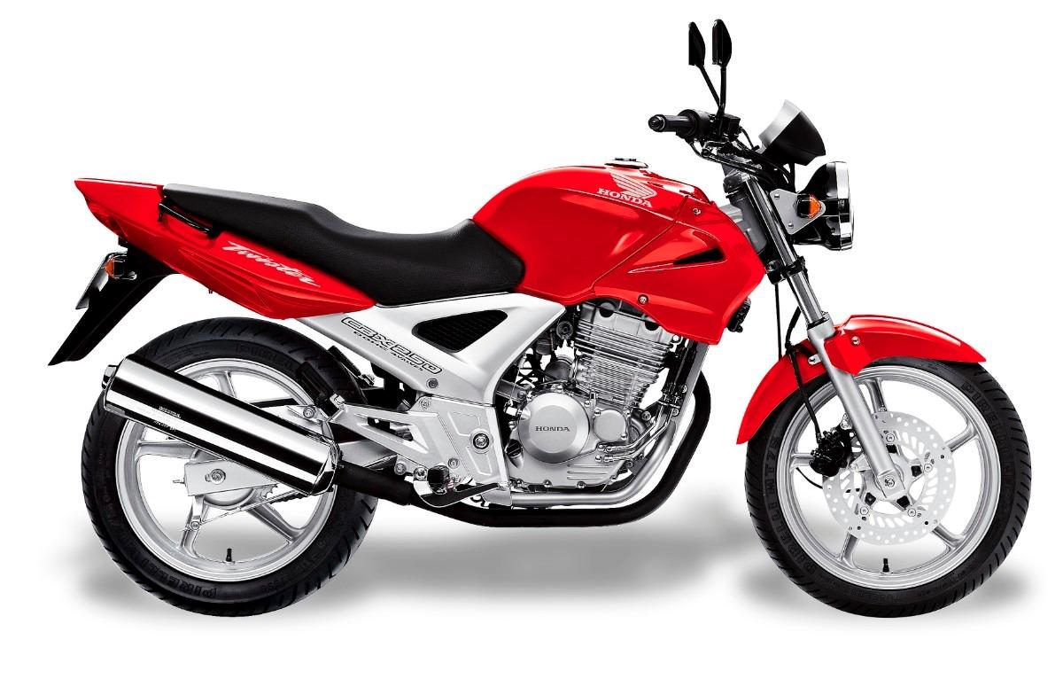 Resultado de imagem para moto twister vermelha