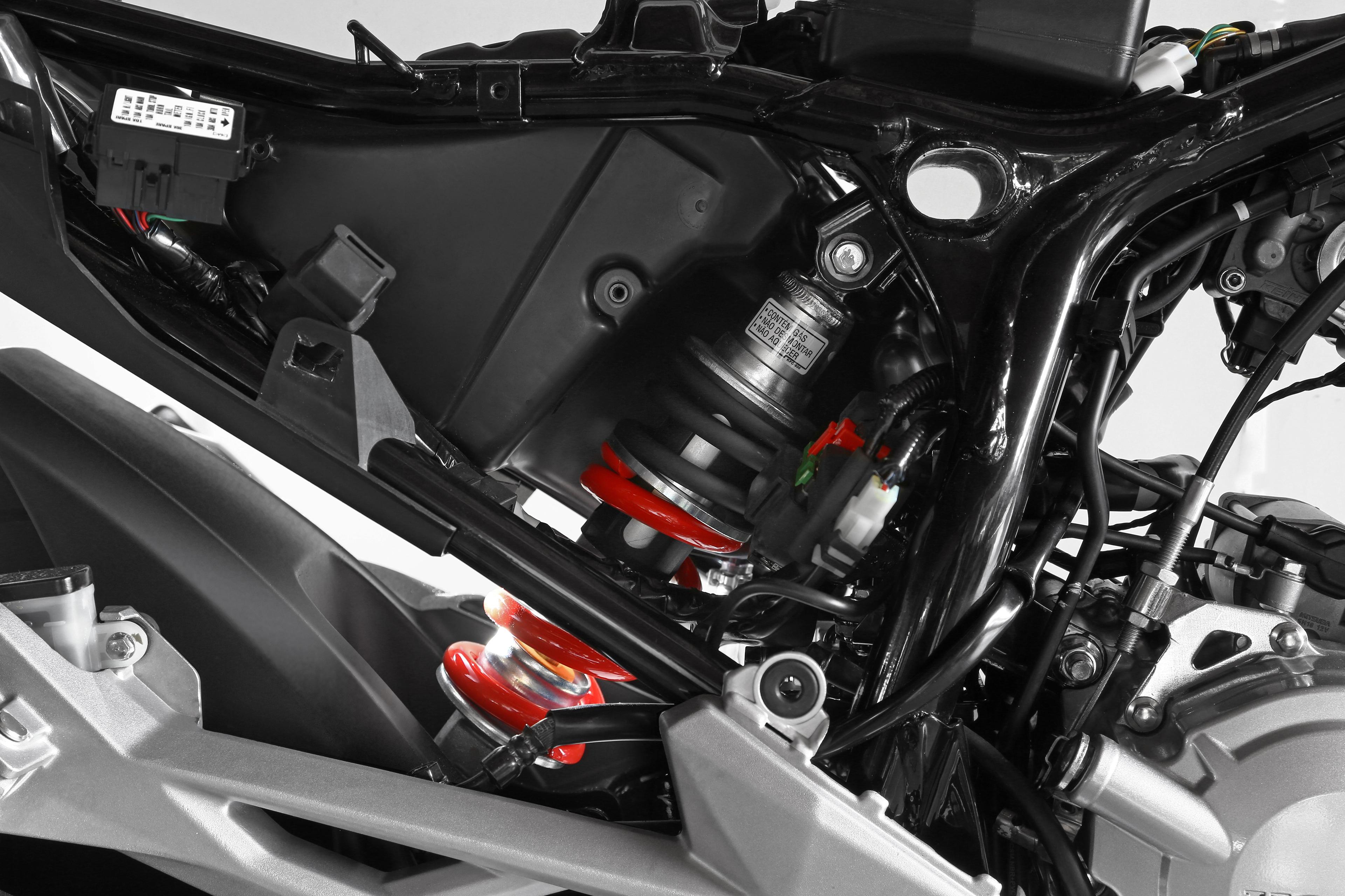 Ficha técnica da Honda CB 250F Twister 2016 a 2020