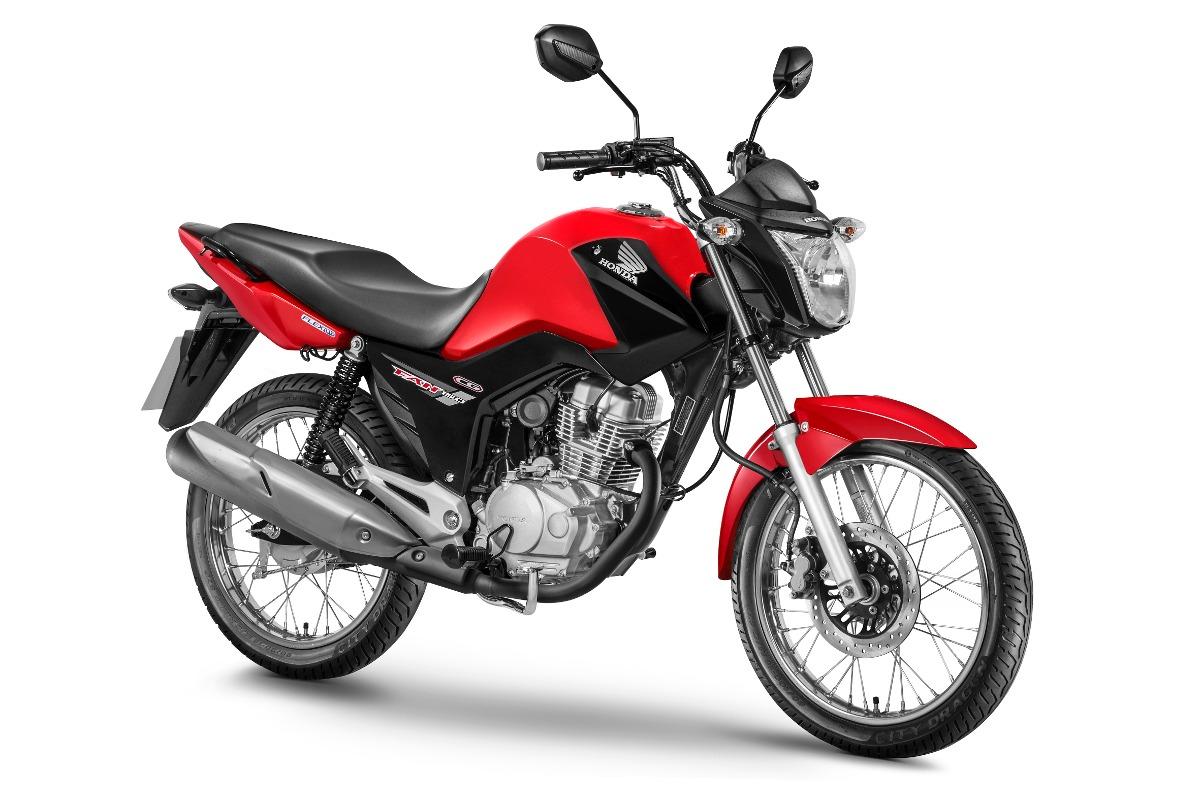 Resultado de imagem para moto fan 150 vermelha