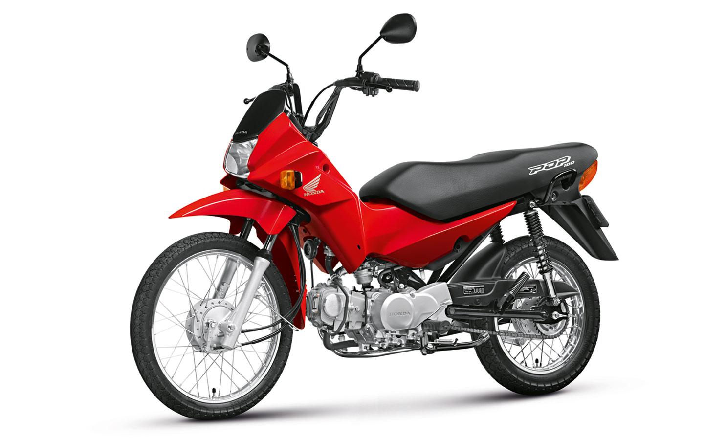Resultado de imagem para Honda Pop 100 2014 vermelha