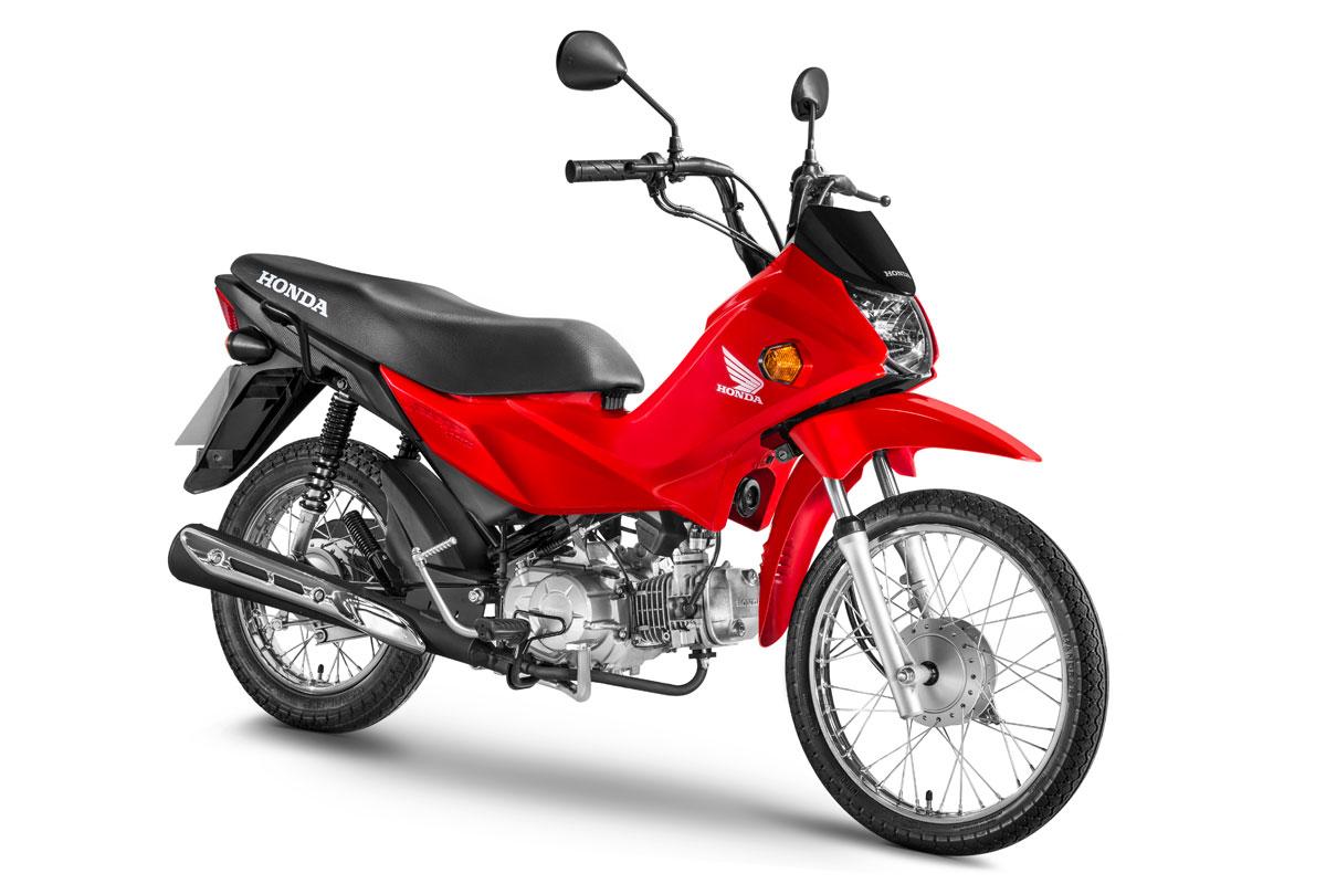 Ficha técnica da Honda POP 110i 2015 a 2019