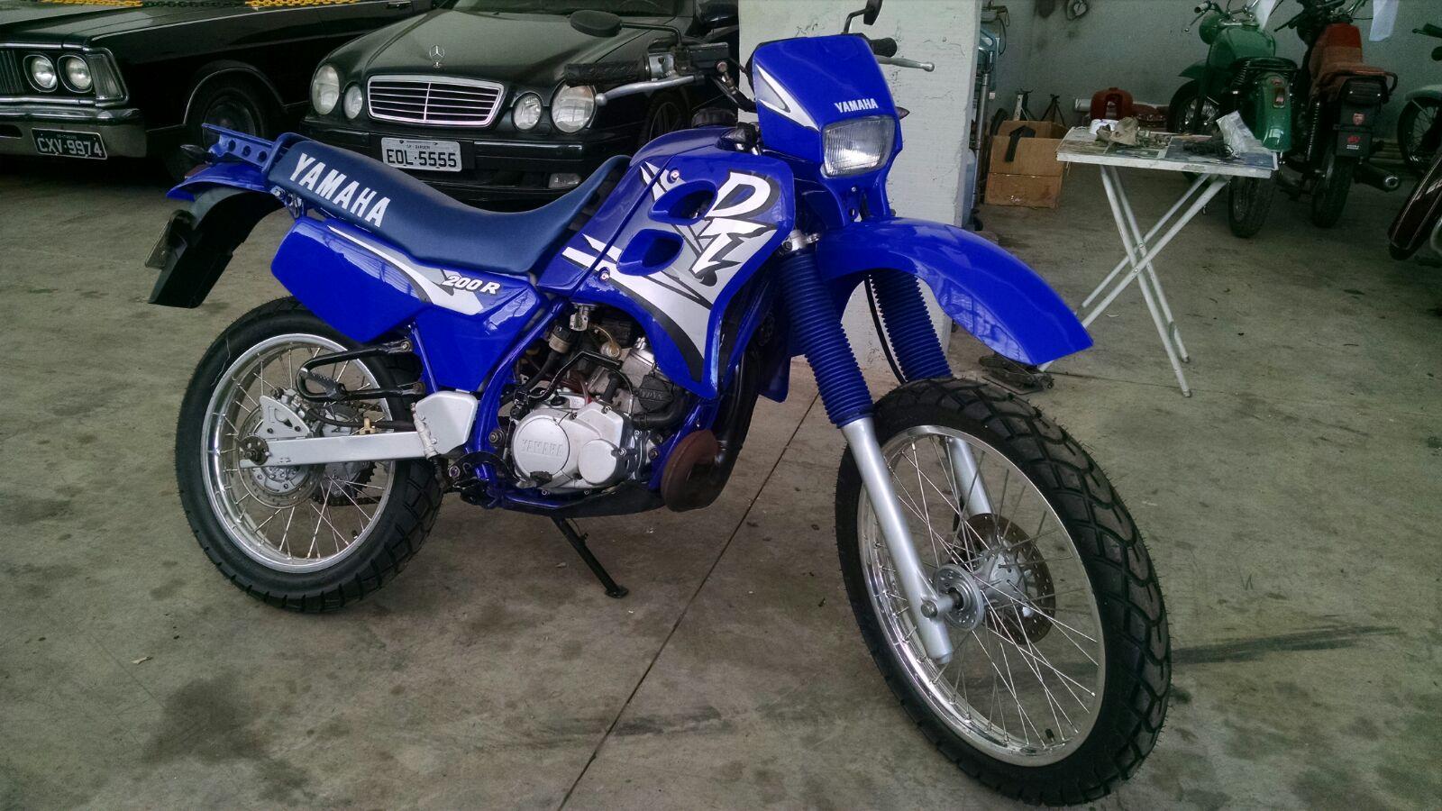 Ficha T 233 Cnica Da Yamaha Dt 200 R 1996 A 2000