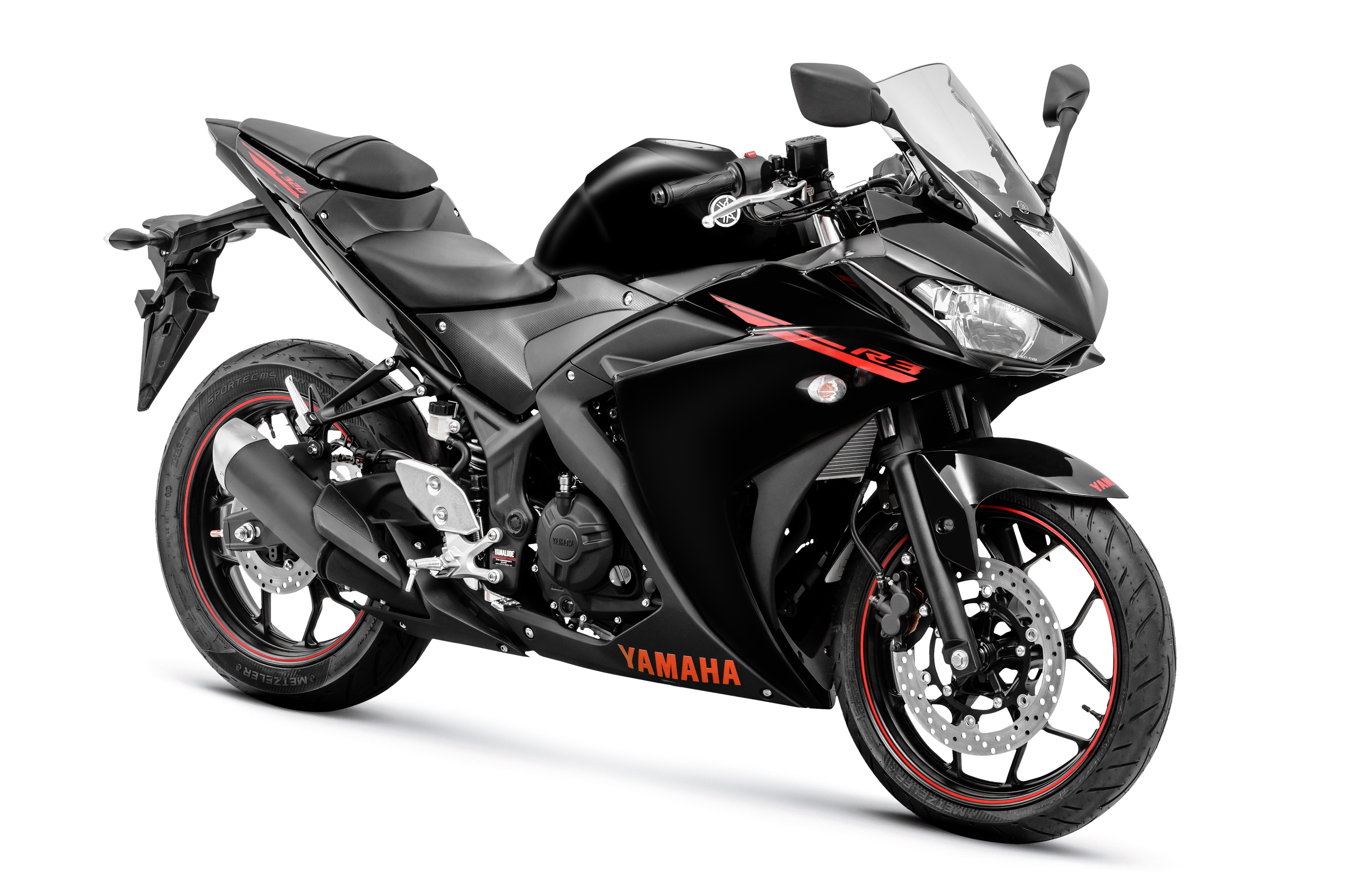 Yamaha R3 2019 >> Ficha técnica da Yamaha R3 2016 a 2019
