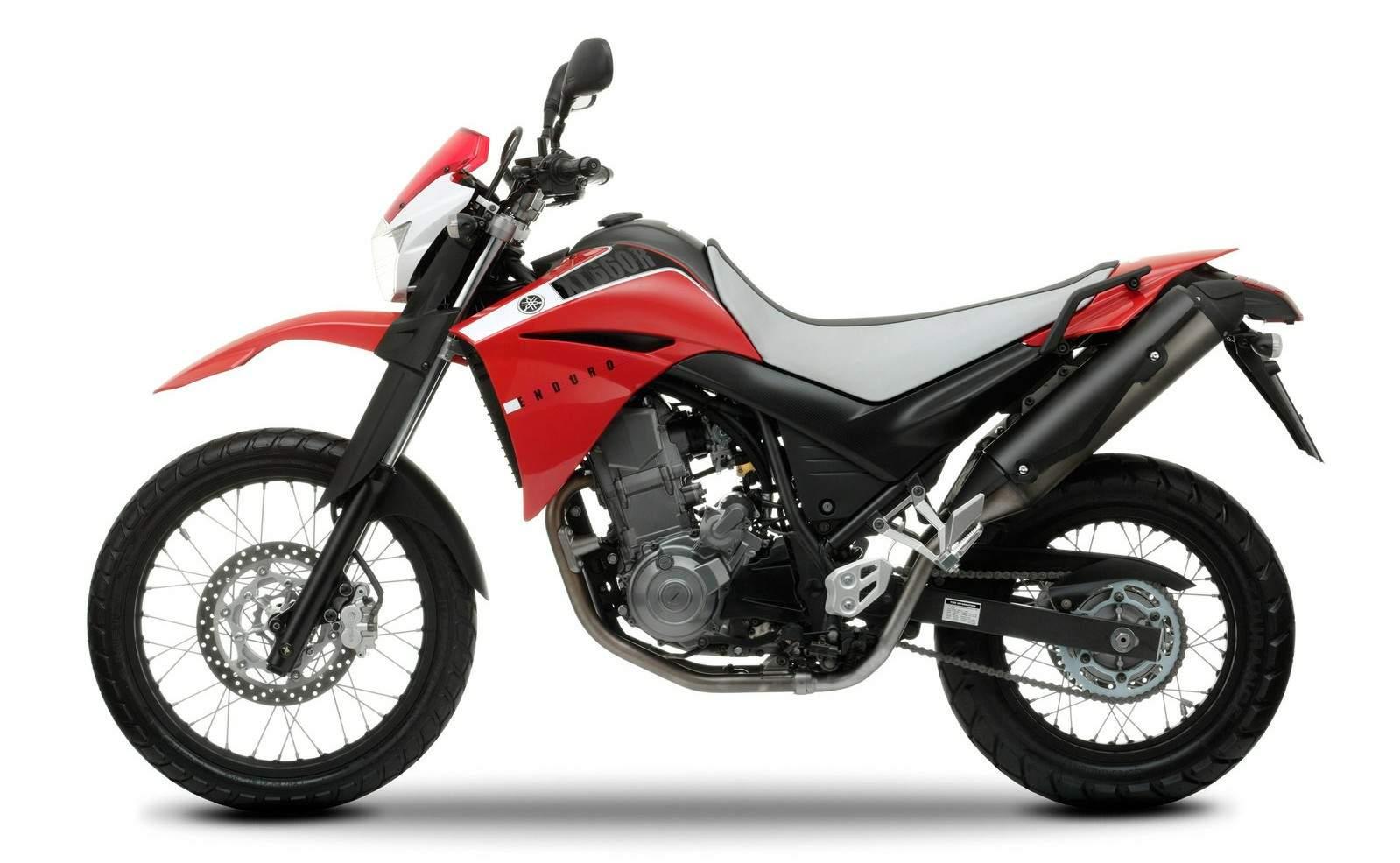 Ficha técnica da Yamaha XT660R 2005 a 2019